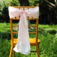 Blush Chair Sashes Beach Chairs And Umbrella 5 Pcs 6x108 Quot Taffeta Crinkle Efavormart