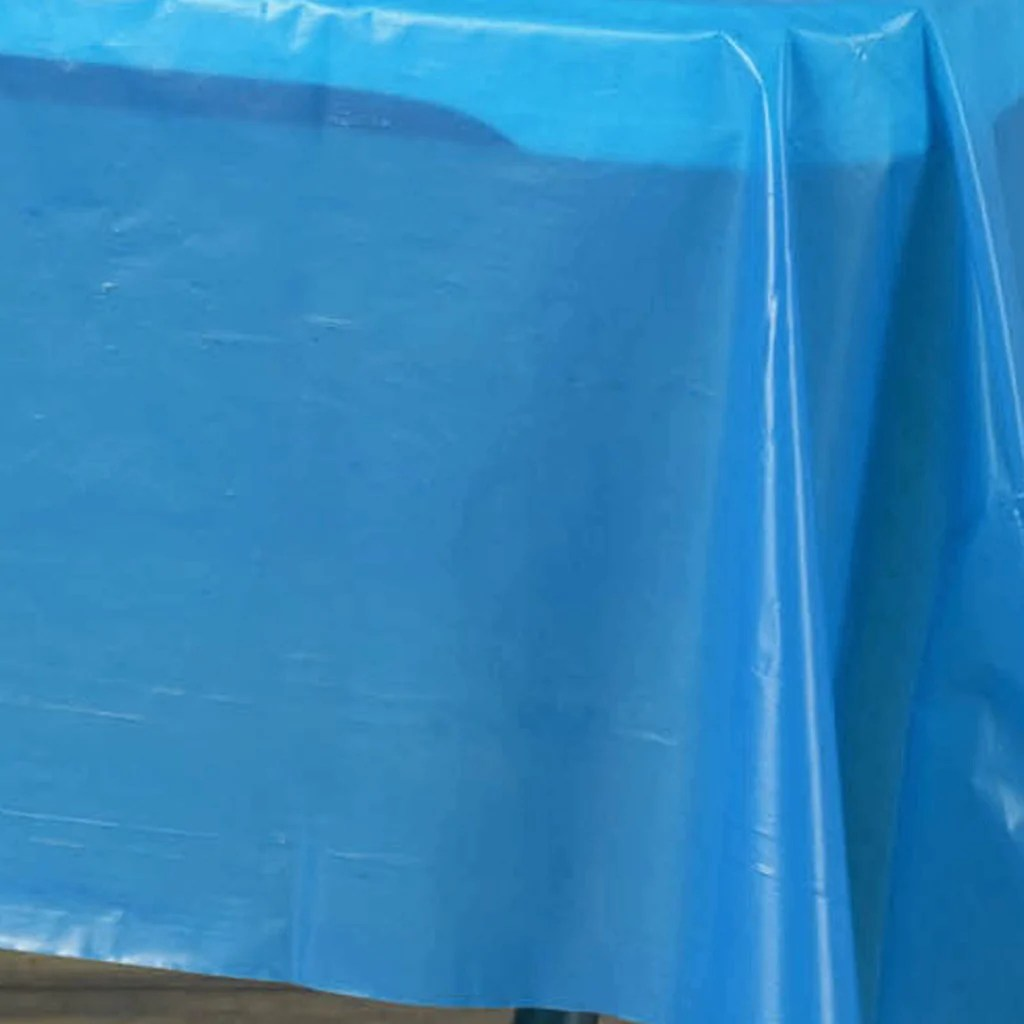 disposable plastic chair covers for parties nautical cushions with ties 54 quotx108 quot wholesale royal blue 10mil thick