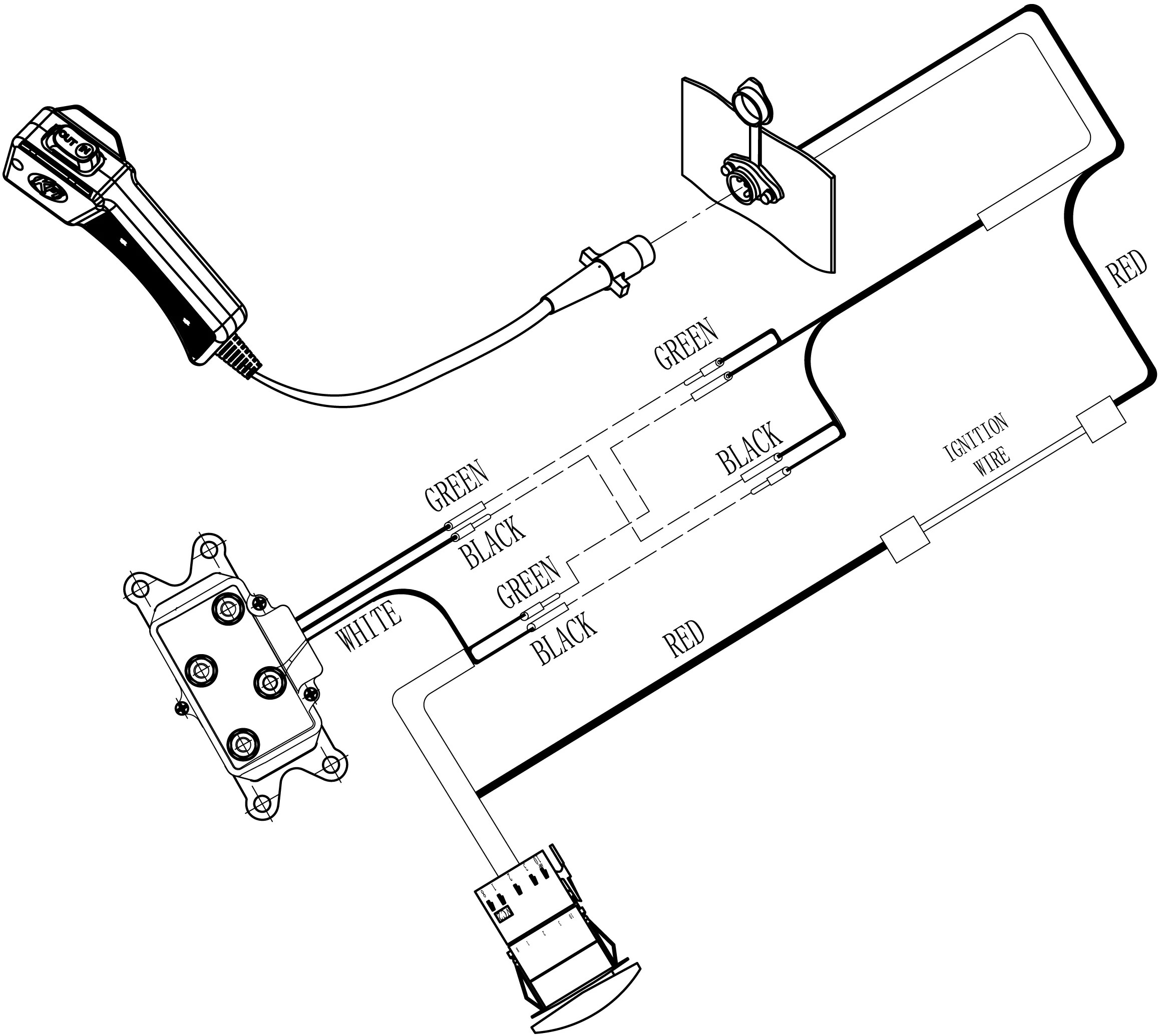 warn winch wiring diagram xd9000i fetal pig muscle labeled schematic database badland wire model 68145 repair