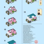 Lego Monthly Mini Build Instructions Ice Cream Truck