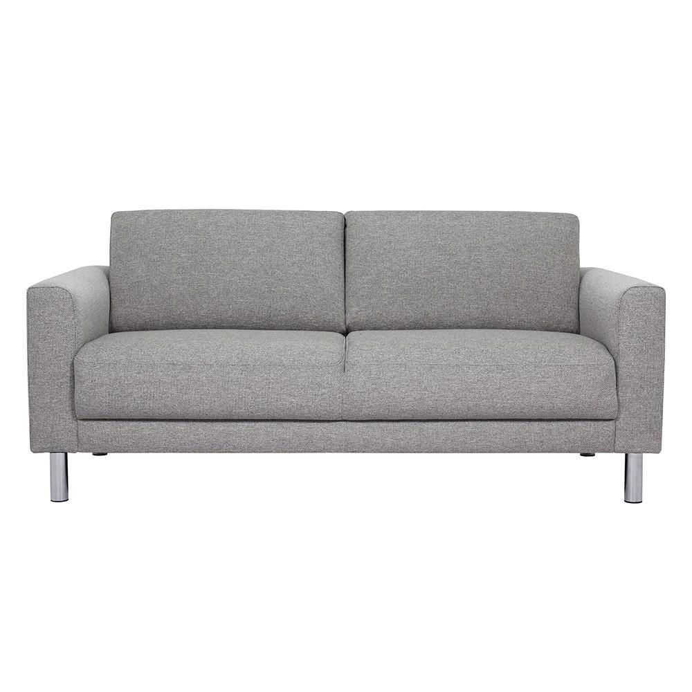 grey fabric sofa uk murphy wall bed cleveland 2 seater light discountsland co