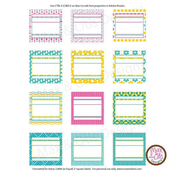 printable shipping labels