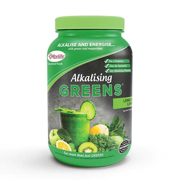 Alkalising Greens® Lemon Lime – Morlife