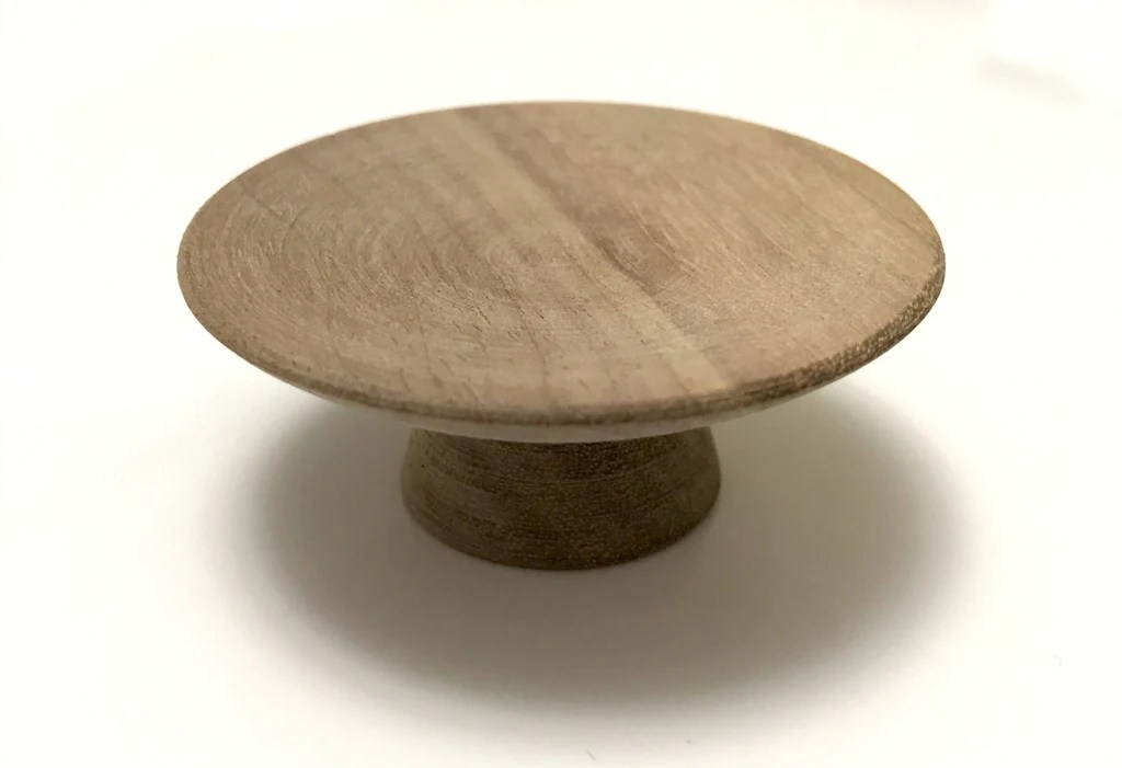 Wood Drawer Knobs  Midcentury Modern Cabinet Pulls