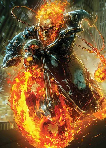 Ghost Rider Bike Hd Wallpaper Cosmic Ghost Rider 4 Of 5 Maxx Lim Marvel Battle Lines