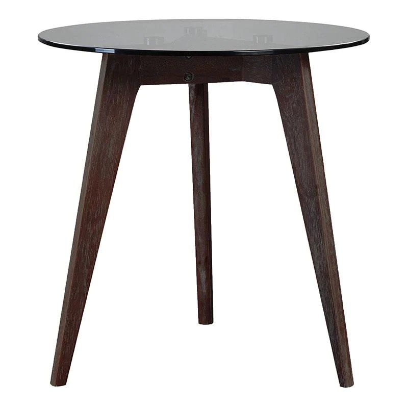 lilo coffee table small walnut brown