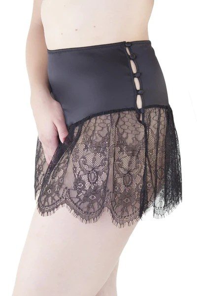 Bettie Page Retro Lace French Knicker  Playful Promises USA