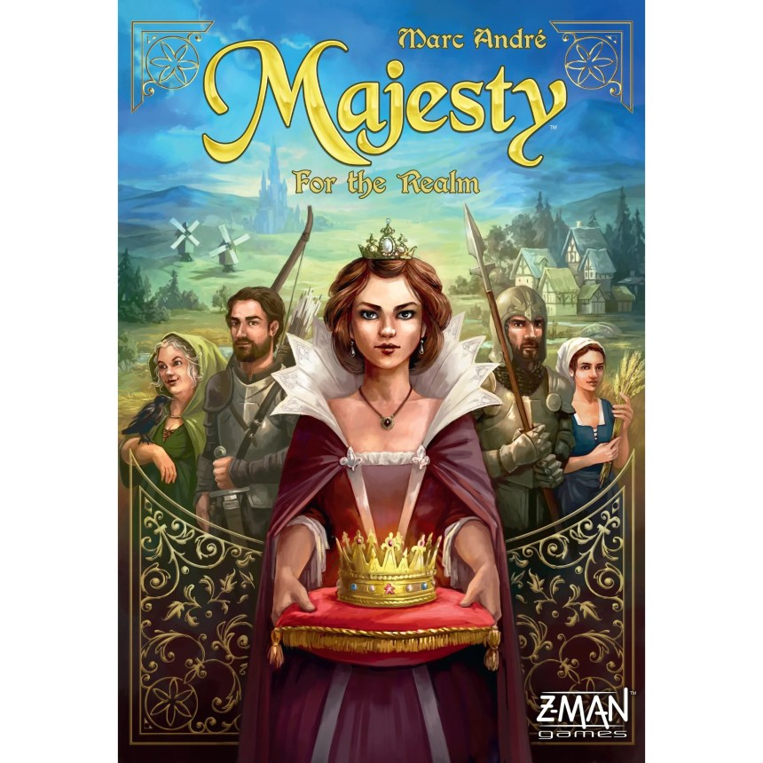 Image result for majesty for the realm board game
