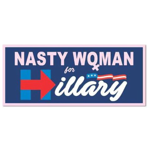 nasty woman for hillary