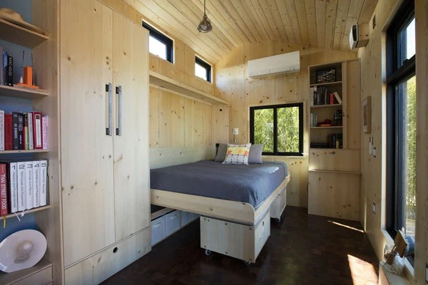 The 24 X 10 Saltbox Tiny House By Extraordinary