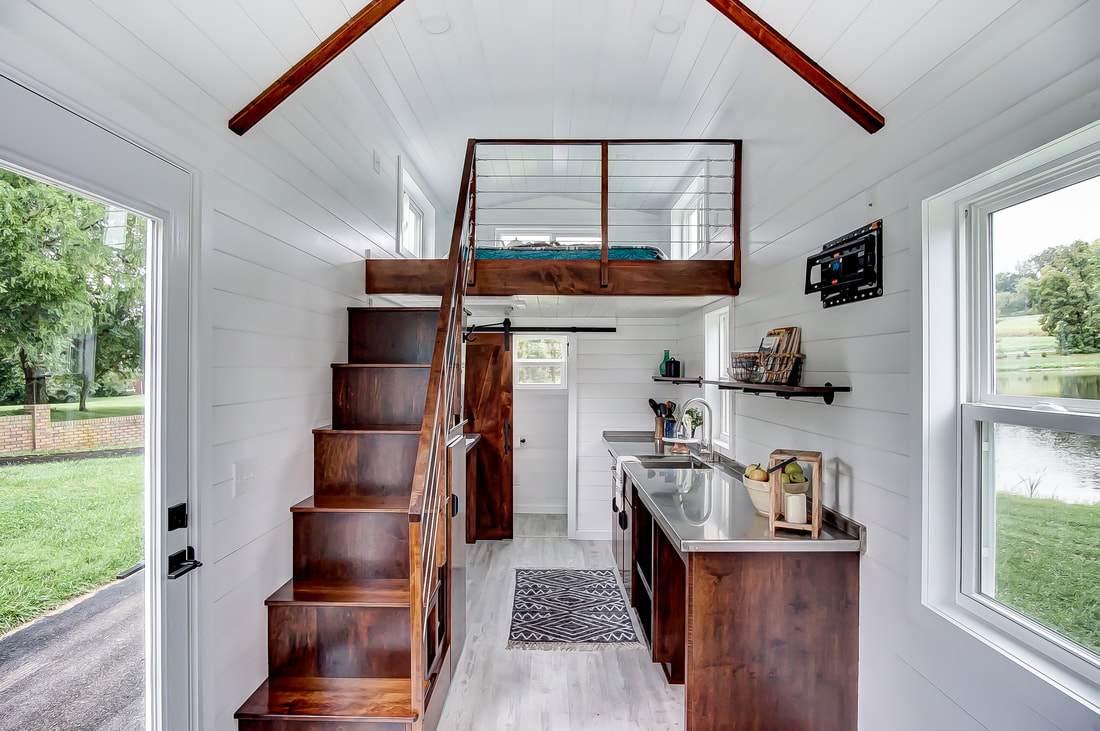 24 Rodanthe Tiny House On Wheels By Modern Tiny Living