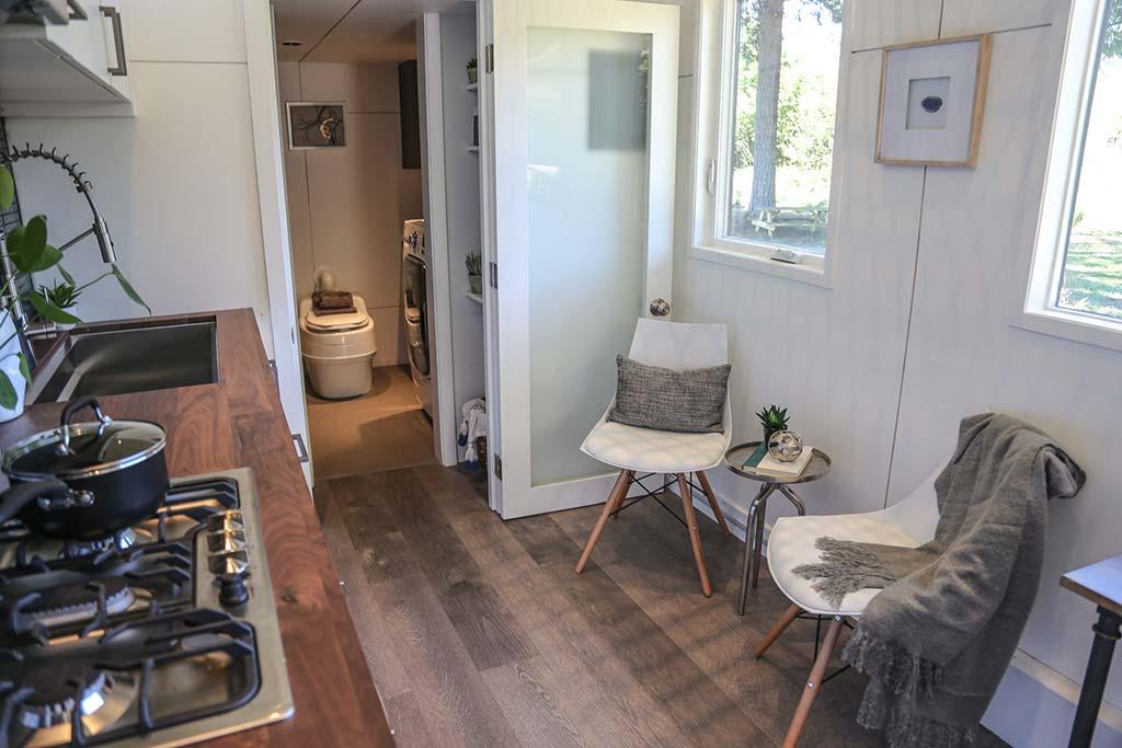30 Gooseneck Tiny House Big Kitchen By Tiny Heirloom