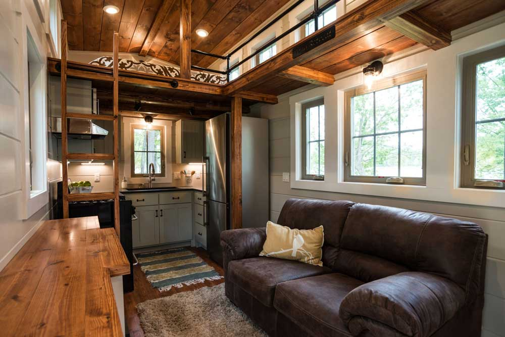 The Handcrafted 416 Sqft Retreat By Timbercraft Tiny