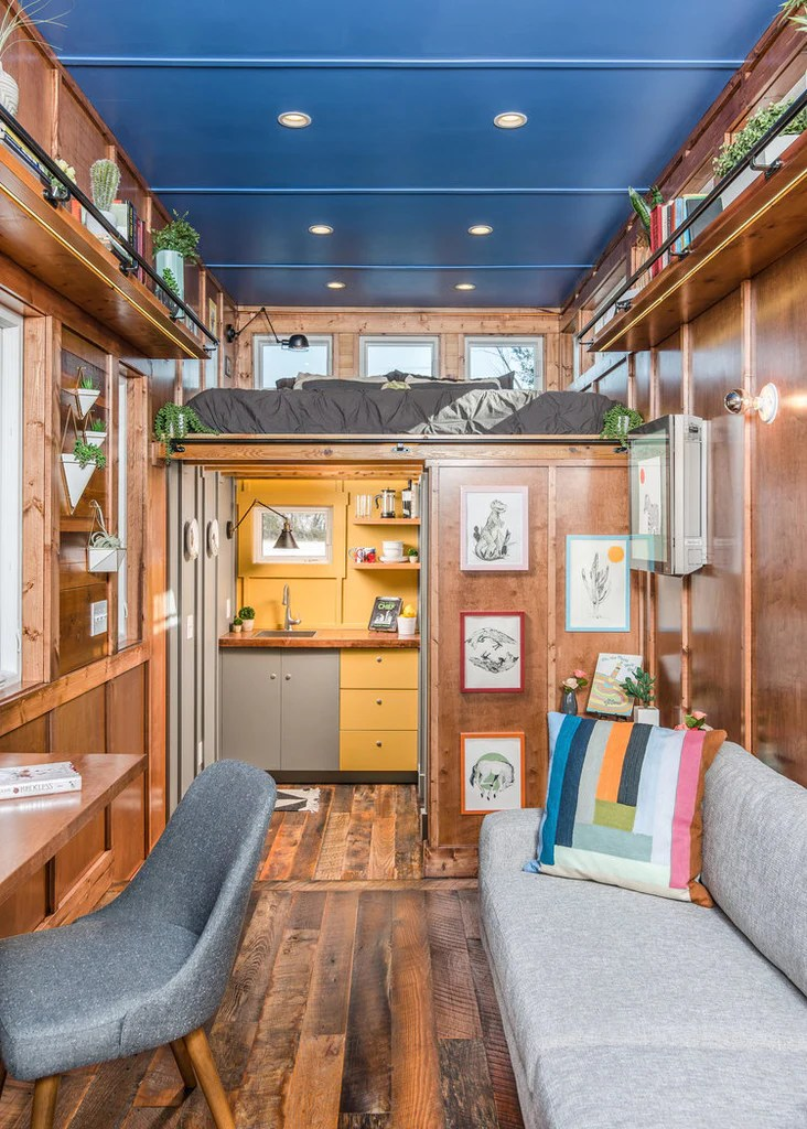 Beautiful Cornelia Tiny House On Wheels By New Frontier