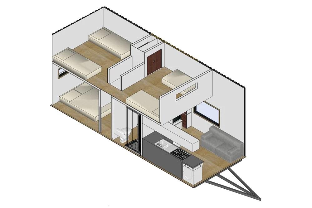 3 Bedroom Kauri Tiny Home On Wheels By Tiny House
