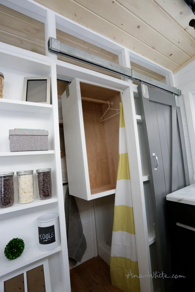 Quot Open Concept Rustic Modern Quot Diy Tiny House By Ana White
