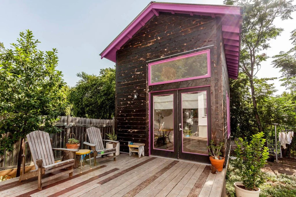 Cozy Bright Lofted Tiny House In Austin Texas Dream