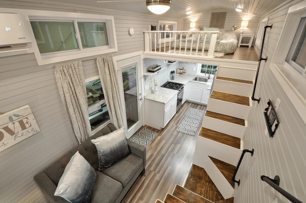 The Elegant Kate Tiny Home On Wheels By Tiny House