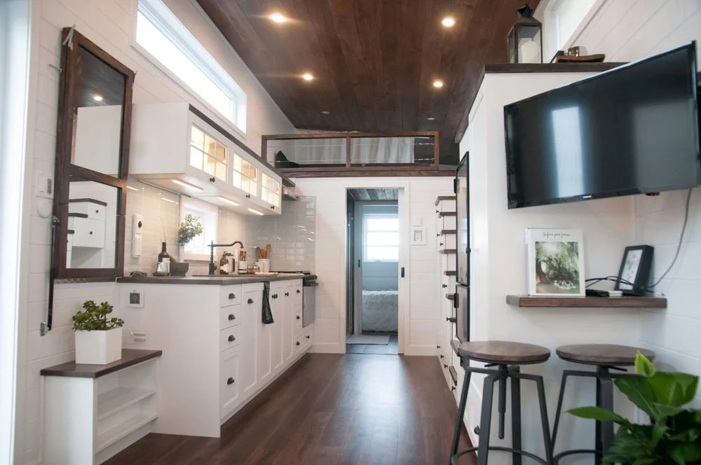 Wide 10 X 32 Laurier Tiny Home On Wheels By