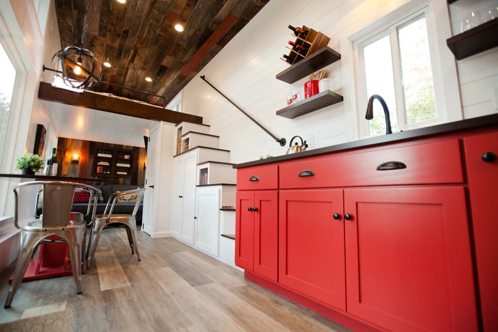 309 Sqft Grand Tiny House On Wheels By Modern Tiny