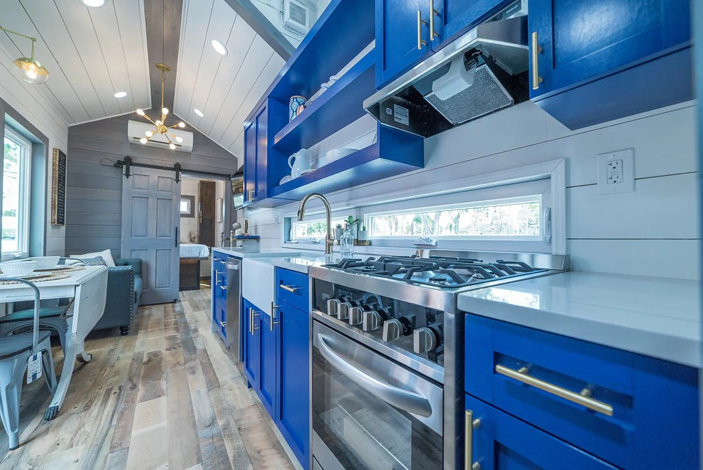 The Blue Henderson Tiny House By Movable Roots In
