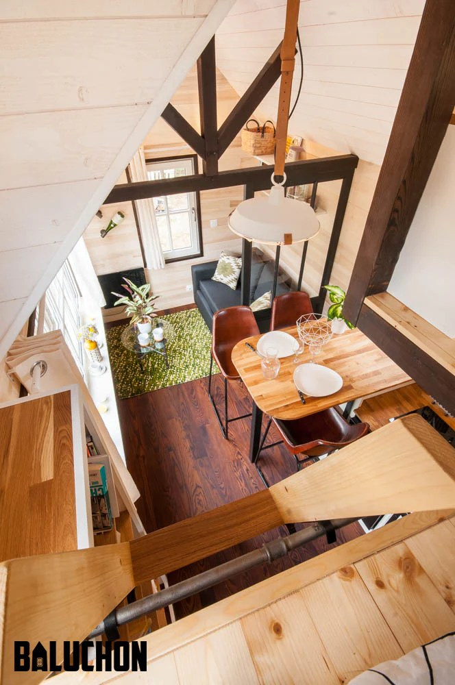 Charming Tiny House La Bohème By Baluchon In France