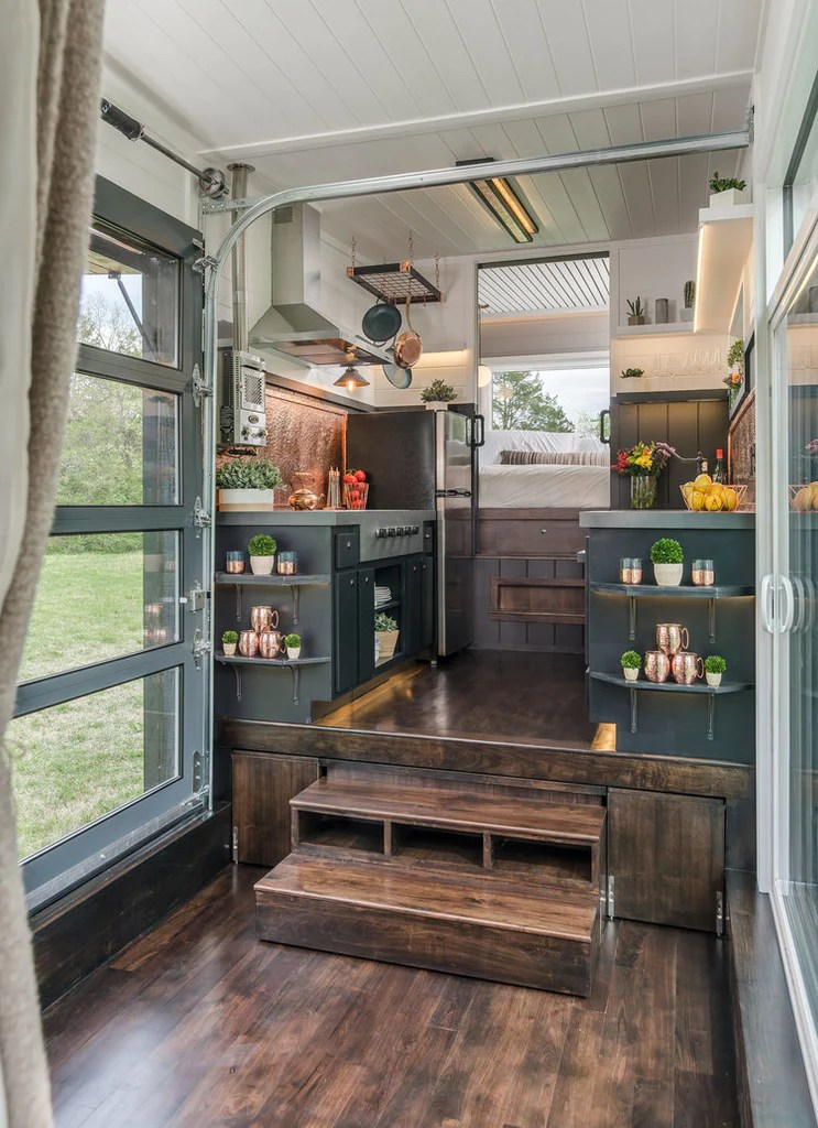 The Jaw Dropping Escher Tiny House On Wheels By New