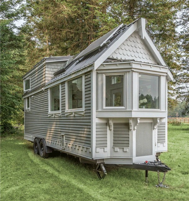 The Elegant Heritage By Summit Tiny Homes In British