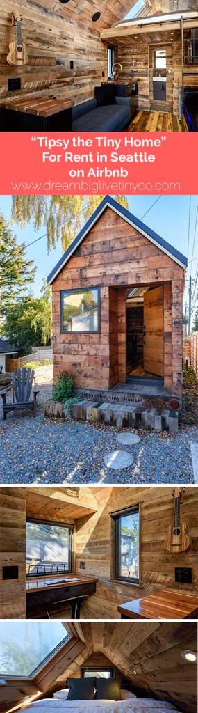 Tipsy The Tiny House For Rent In Seattle On Airbnb Dream