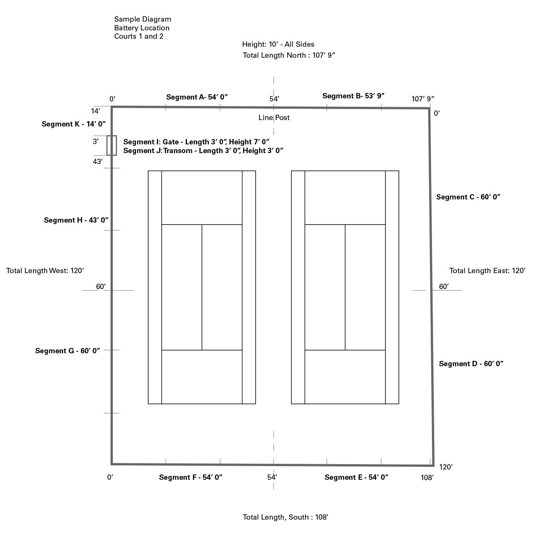 measurement of tennis court with diagram flow meter wiring windscreen designer your