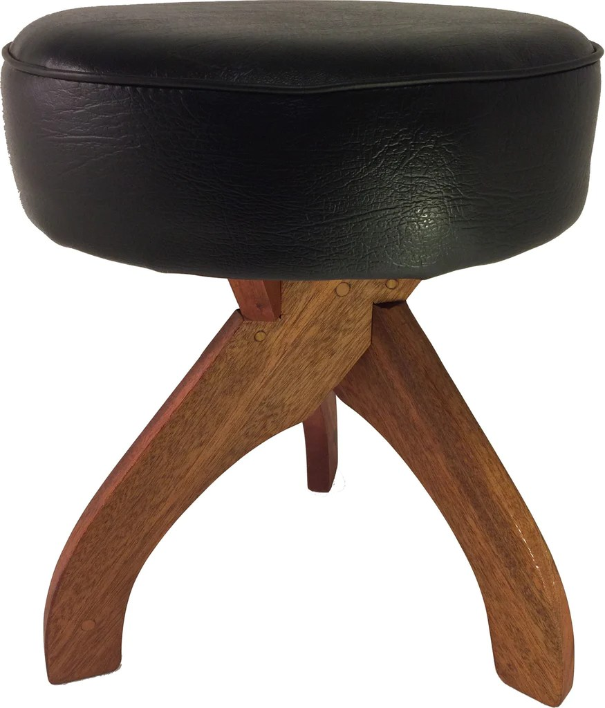 chair height stools lawn cushions zither music company wooden 18 stool handcrafted hardwood