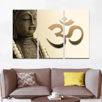 Zen Buddha Multi Panel Canvas Wall Art | ElephantStock