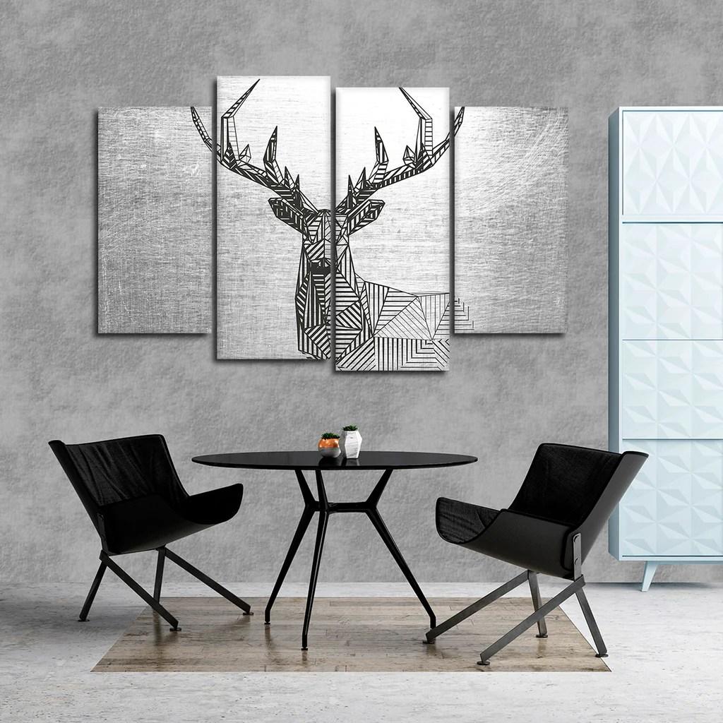 Geometric Wall Art Canvas