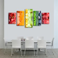 Artwork For Kitchen Cabinets Orange County Canvas Wall Art Prints Decor By Elephantstock Healthy Life Multi Panel