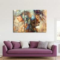 Indian Pride Multi Panel Canvas Wall Art | ElephantStock