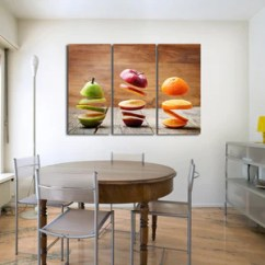 Art For Kitchen Wall Chicago Remodeling Canvas Prints Decor By Elephantstock Slices Of Fruit Multi Panel