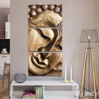 Traditional Buddha Multi Panel Canvas Wall Art | ElephantStock
