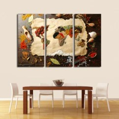 Artwork For Kitchen Blanco Faucet Canvas Wall Art Prints Decor By Elephantstock World Of Spices Multi Panel