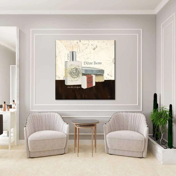 Grooming I Multi Panel Canvas Wall Art