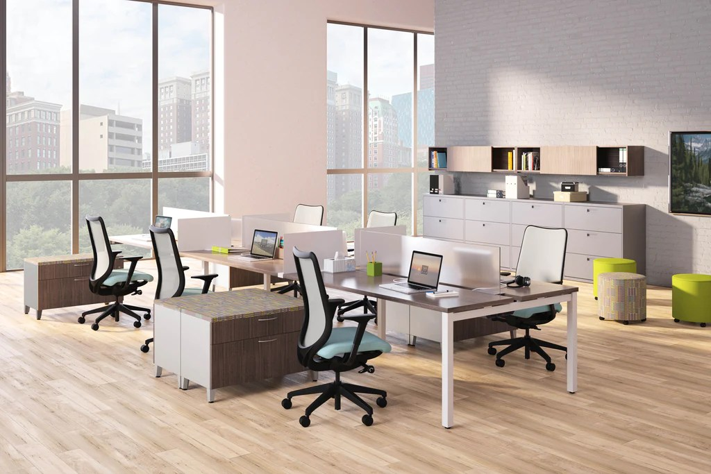 Hon Empower Benching System  ABI Office Furniture San
