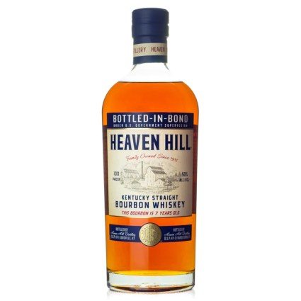 Heaven Hill 7 Year Bottled in Bond Bourbon — Bitters & Bottles