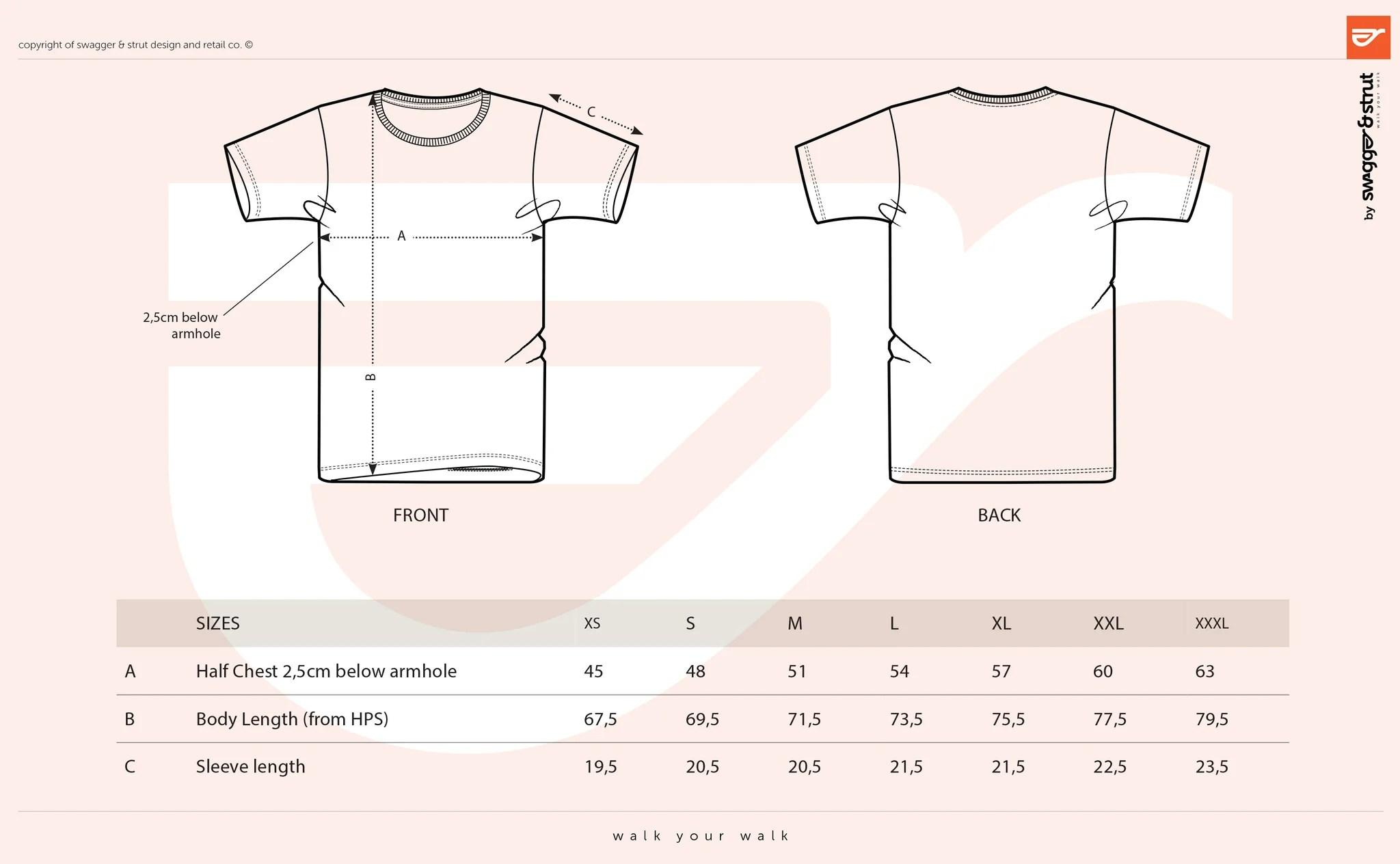 100 organic round neck t shirt size chart measurements shirt diagram template shirt diagram template [ 2048 x 1264 Pixel ]