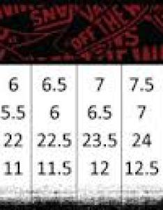 Vans sizing chart also people davidjoel rh
