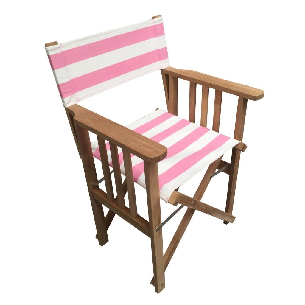 striped directors chairs wheeled beach chair lounger discus deckchair stripes