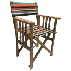 Striped Directors Chairs Bedroom Chair White Athletics Deckchair Stripes Paintballing