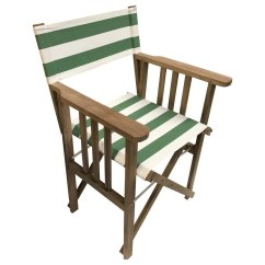 Striped Directors Chairs The Rocking Chair Store Pole Vault Deckchair Stripes