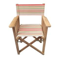 Striped Directors Chairs White Ikea Chair Slamball Deckchair Stripes