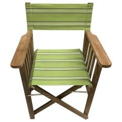 Striped Directors Chairs Satin Chair Covers Sprinting Deckchair Stripes