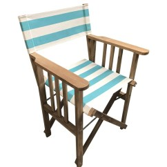 Striped Directors Chairs Chair Covers Ideas For Weddings Surfing Deckchair Stripes