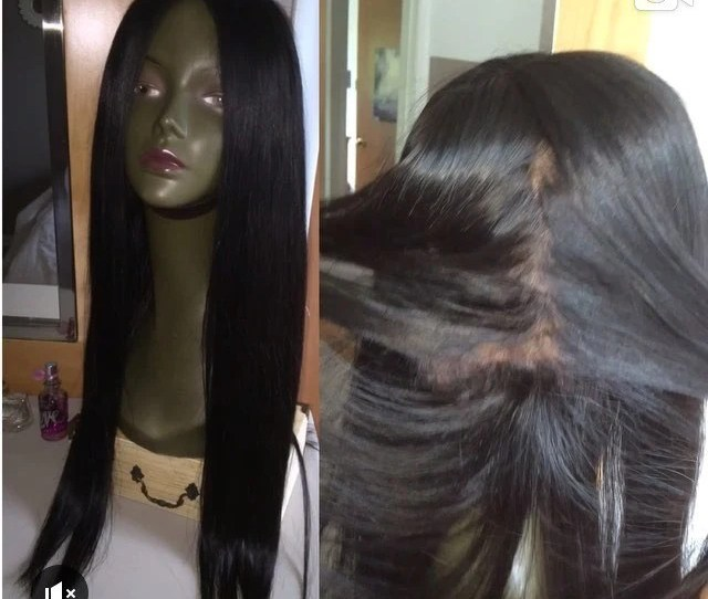 Pre Plucked Full Lace Wigs Bodywave Straight